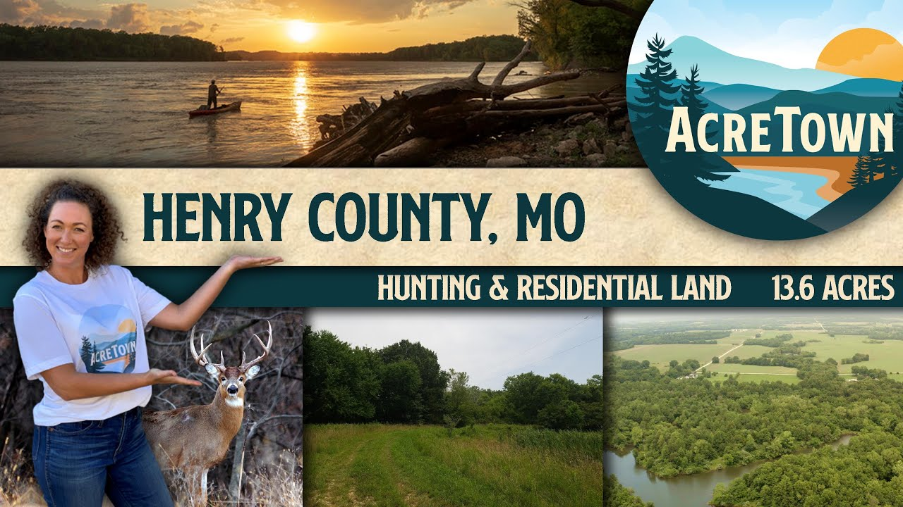 Missouri Land For Sale | 13.6 acres | 90 mins from Kansas City | No Restrictions Real Estate