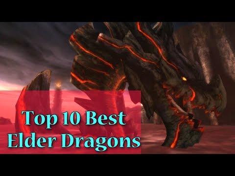 Top 10 Best Elder Dragons In Monster Hunter