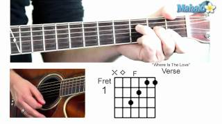 "How to Play ""Where Is The Love"" by the Black Eyed Peas on Guitar"