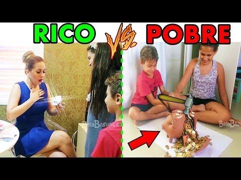 RICO e POBRE - MÃES E FILHOS [Mãe de Rico X Mãe de Pobre] BELA BAGUNÇA