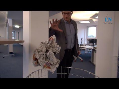 Mannequin Challenge im Newsroom der Lübecker Nachrichten