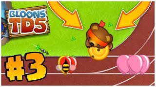 WHAT IS THIS NEW TOWER?!   Bloons Tower Defense   BTD 5 Gameplay Part 3