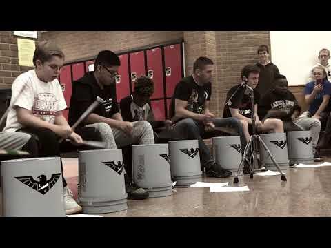 LJS Bucket Drum Club Winter 2017
