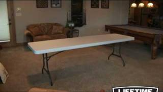 Lifetime 8 ft Folding Banquet Table (Almond)