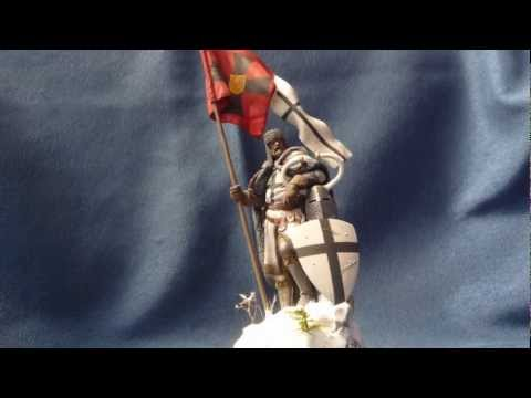 "Pegaso Models ""Grand Master of the Teutonic Order"" in 75mm scale"