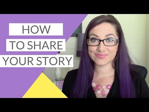 Storytelling In Business - Sharing Your Story