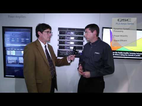 QSC PLD Amp Series - NAMM 2014
