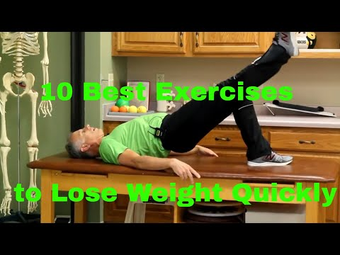 10 Best Exercises to Lose Weight Quickly (No Equipment Needed)