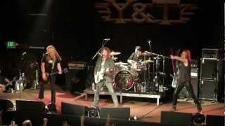 "Y&T ""Meanstreak/Lonely Side Of Town"" 2-2-13 The Catalyst Santa Cruz"