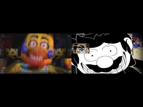 UCN And FNaS Maniac Mania Sparta Pacman V2 Twoparison