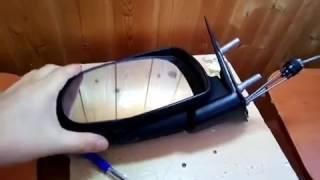 Ремонт регулювання дзеркала Лада Калина своїми руками. Зняття дзеркального елемента