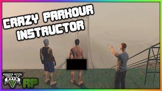 GTA 5 Roleplay - Crazy Parkour Instructor | RedlineRP #23