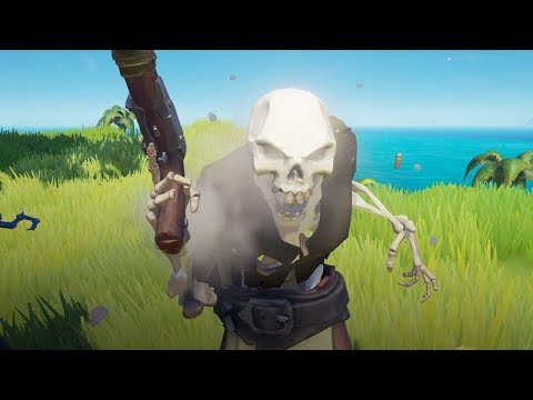 БИТВА ПРОТИВ 1000 СКЕЛЕТОВ В SEA OF THIEVES!