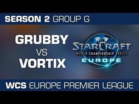 VortiX vs. Grubby - Group G Ro32 - WCS European Premier League - StarCraft 2