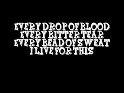 live for this - hatebreed lyrics