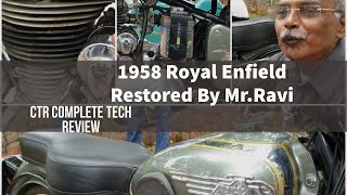 1958 Royal Enfield which starts with a Generator | Independence Day Vintage Bikes Restoration Part 4