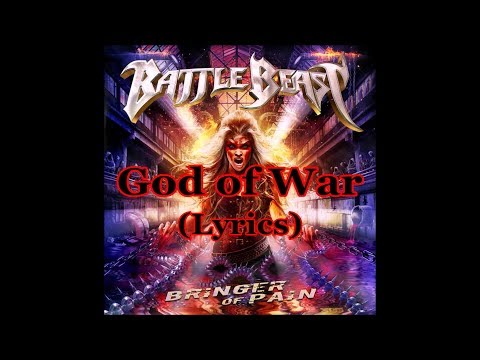 Battle Beast - God of War (Lyrics)