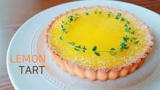 상큼한 레몬타르트 [아몬드크림+레몬커드] Lemon T…