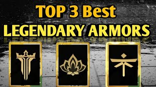SHADOW FIGHT 3 | Top 3 Best Legendary Armors Of All Time !!
