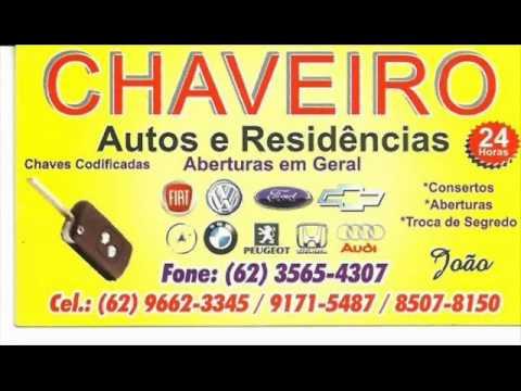 707a2b081b24b Chaveiro Joao 24 horas em Goiânia - YouTube