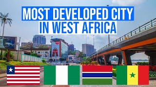 Most DEVELOPED Cities in West Africa 4K
