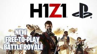 *NEW BATTLE ROYALE* H1Z1 Squads on PS4 Pro