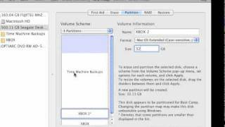 How to format/partition external hard drive for xbox 360, with a mac.mov