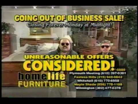 Best Going Out Of Business Ad. Ever. - YouTube