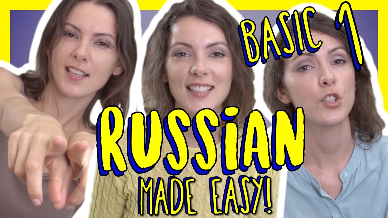 Basic Russian course: Lesson 1 - Learn Russian for Free
