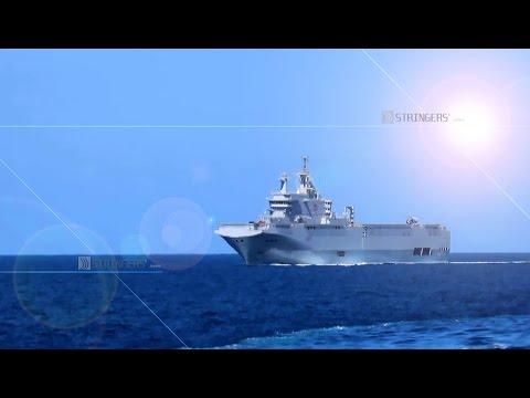 EGYPT | Egypt's Alexandria recieves Mistral carrier Anwar El-Sadat