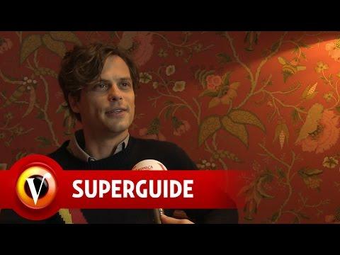 Matthew Gray Gubler over Criminal Minds-karakter Spencer Reid - Veronica Superguide