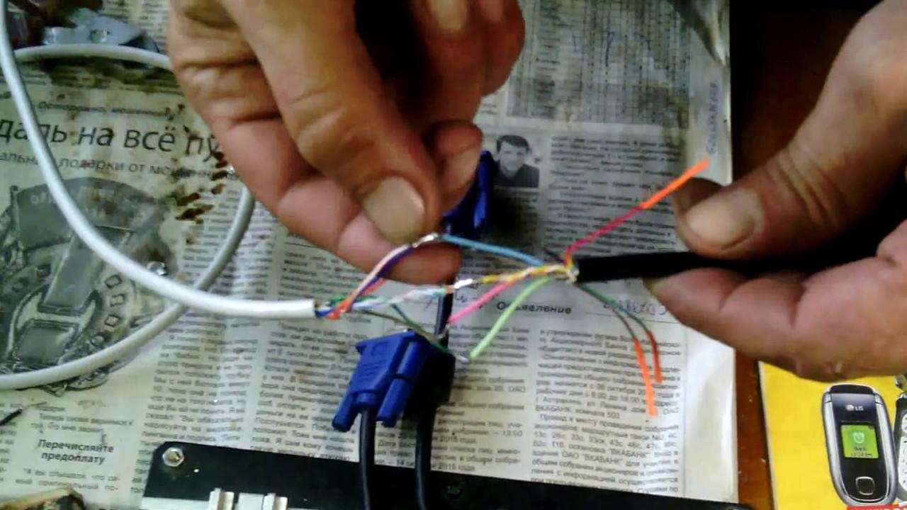Сетевой кабель lan своими руками фото 121