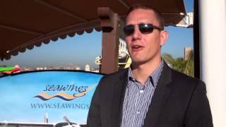 DARREN BREWS speaks to Journalist WILLIAM FARIA