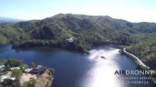 Dique Los Molinos - Córdoba - ARGENTINA - (desde un drone) full HD