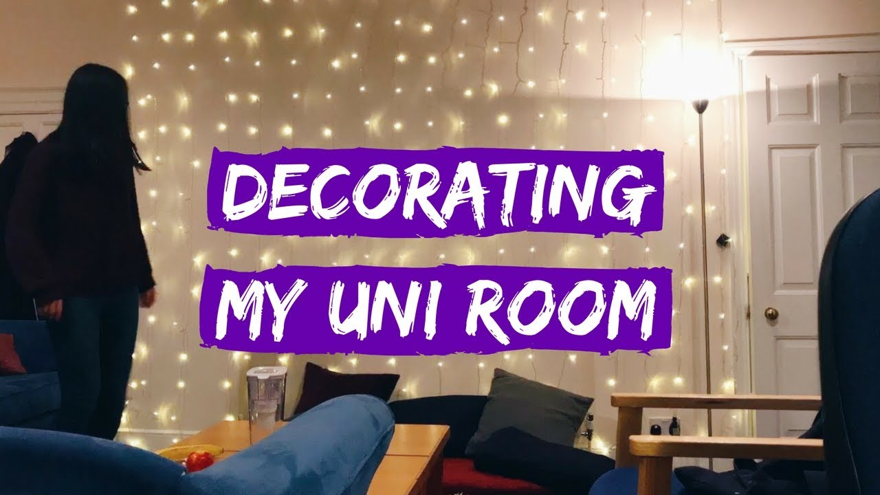 Decorating My University Room Time Lapse Viola Helen Youtube