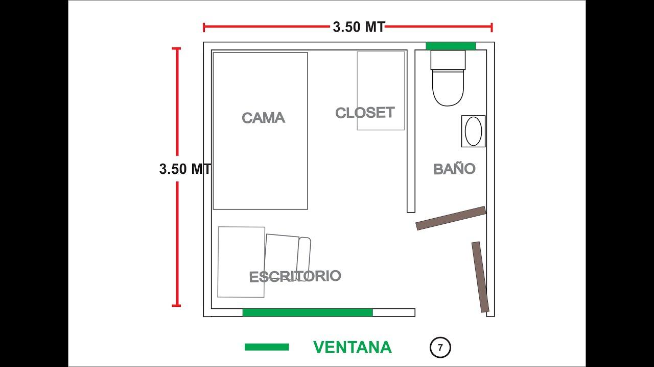 Habitaci n 307 3cer piso av arequipa y risso lince lima for Medidas minimas de una cocina