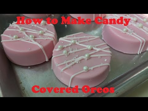 Tutorial: How to Make Chocolate Candy Covered Oreos
