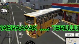 Download Lagu Gara-Gara Supir Ngantuk.., Bus Oleng Nabrak Alfa mp3