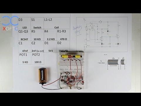 XCBV: Basic Metal Detecting Circuit Part 2 - Build The Circuit