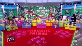 'The View' Co-Hosts Favorite Holiday Gift Ideas Under $50 | The View