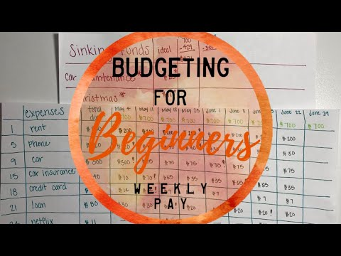 Budgeting For Beginners; Cash Envelope System | WEEKLY PAY | BudgetWithBri