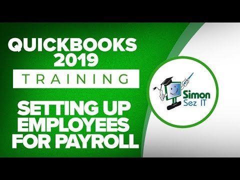 How To Setup Employees For Payroll In QuickBooks 2019
