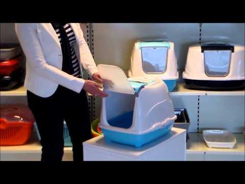 katzentoilette flip cat von karlie flamingo g nstig bestellen. Black Bedroom Furniture Sets. Home Design Ideas