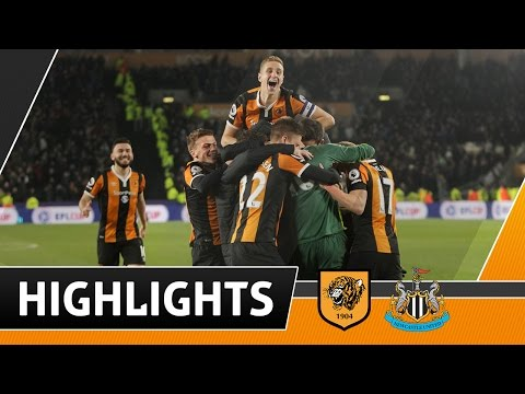 The Tigers 1 Newcastle United 1 (3-1 Pens) | EFL Cup Highlights | 29.11.16