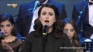 """BİR DİRİLİŞ DESTANI """"ÇANAKKALE""""  Ezgi Azizoğlu (Değirmen Başında Vurdular Beni)"""