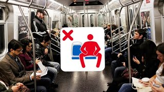 Buzzfeed woman are saying Manspreading is a Disgusting act