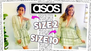 """ASOS """"Trending Now"""" Clothing on 2 Different Body Types! [Size 2 vs Size 10]"""