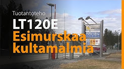 Kamrock Oy murskaa Lokotrack LT120E:llä Agnico Eagle Finland Oy:n kultakaivoksella