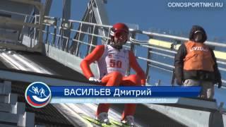 Чемпионат России по прыжкам на лыжах с трамплина. Мужчины. 30 марта 2015 г. Чайковский