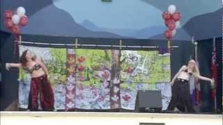 Tara Foisy And Amber Wood- Bahiti Duet (canada Day 2012)